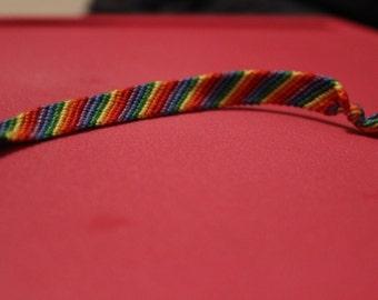 Rainbow Friendship Bracelet