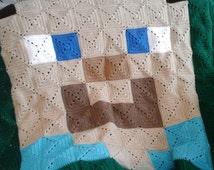 Minecraft Steve Crochet Pattern