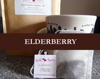 Elderberry Herbal Tea Bags