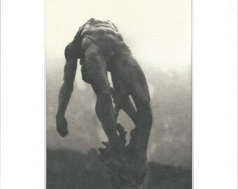 Statue Falling Backward Edition 3/10 Platinum Print 5x7 Editions 2-10