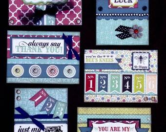 Masculine Card Kit, Premade Cards, Handmade Card Kit, Pre-made cards, All Occassion Cards, Premade Cards, Pre-made Card Kit