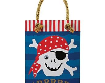 Pirate Party Bags   Pirate Party   Party Bags   Paper Bags   Loot Bags   8 per Pack