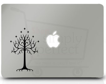 Tree of Gondor Decal inspired by The Lord of the Rings- Macbook decal - Car Decal by Shop Simply Perfect