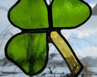 Stained Glass Shamrock Ornament Gift Shamrock Sun Catcher