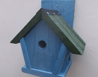 The 'Penthouse' Bird Nesting Box - Henry's Bird Boxes, Handmade in Wales