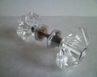 Vintage Glass Door Knobs. - From the Soviet Union.