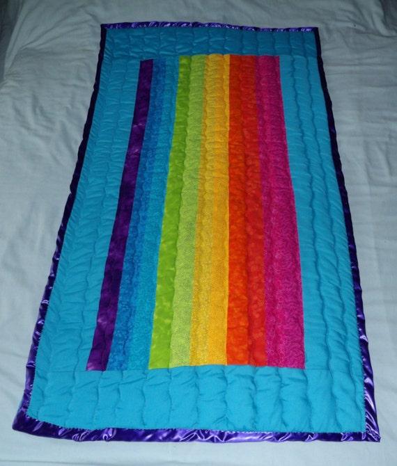 Items Similar To Rainbow Chakra Single Child Quilt Prayer