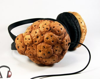 Cookie handmade headphones