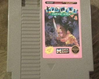 Kid Niki Radical Ninja Nintendo game