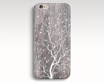 iPhone 6s Case, iPhone 7 Case, Wood Print iPhone 6s Case, Tree iPhone SE Case, iPhone 5C Case Floral iPhone 6 Plus Case iPhone 7 Plus Case