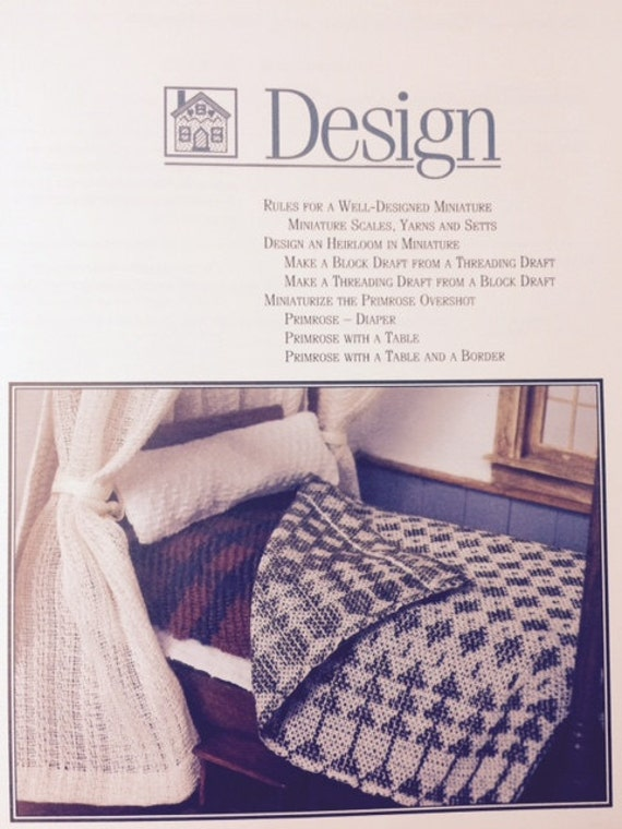 Tiny textiles book one by mary elva congleton erf for Studio one bed cover
