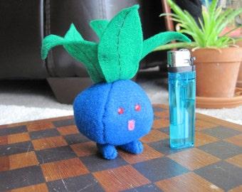 Oddish Inspired Plushie