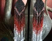 Cirque du Rêves - Ombre Fringe Earrings