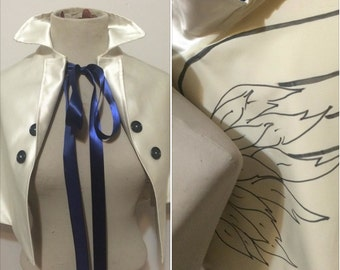 Castiel angel cape supernatural cosplay