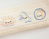 Teeny Tiny Tropics - PDF Tropical Island Hawaiian Hand Embroidery Pattern