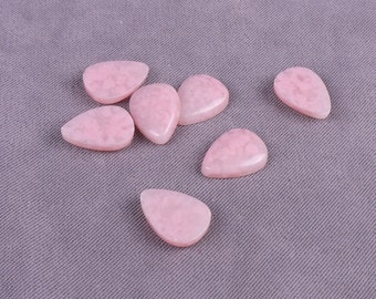Pink Glass Stones 15mm - 25 Pieces (GT15PKTD-25)