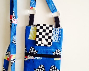 NASCAR Cell Phone Purse