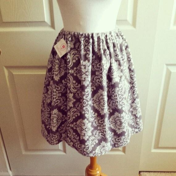 Grey Flannel Skirt 24