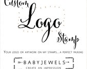 Custom Logo Rubber Stamp - Your logo or artwork on my stamps