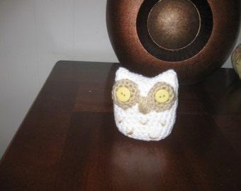 Crocheted Hoot Owl