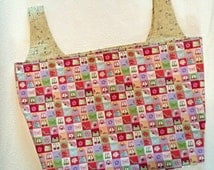 Shoes and Purses Reusable Fabric Shopping Bag