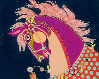 Horse - large fine art giclee print art