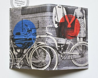 Passport Cover - vintage cycle love