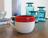 SHOP SALE Groove Mug in Red
