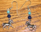 Your Choice Trotting Horse Earrings