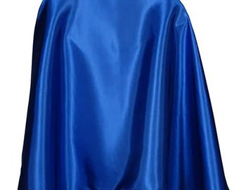 """Children's Solid Color 30"""" Superhero Cape: Available in 18 Different Colors! Ages 7+"""