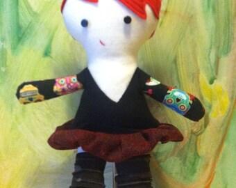 Wendy A Tattooed Roller Derby Doll