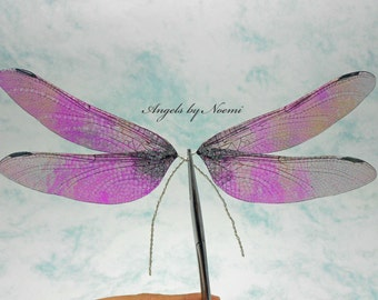 Fairy Wings - Irridescent Dragonfly wings 589 -  For OOAK Art Dolls