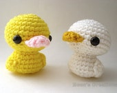 Custom Duckling Amigurumi - Duck Doll - Choose Your Own Color