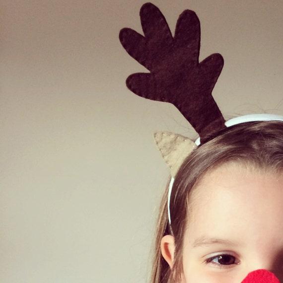 Reindeer antlers craft kit make your own children 39 s for Reindeer antlers headband craft