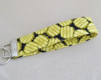 Key Fob wristlet - Pickles