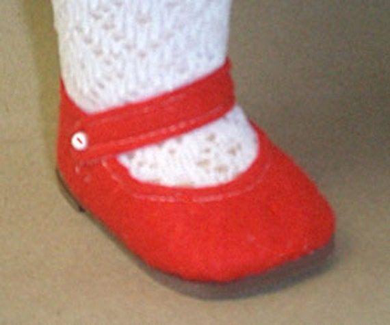 Patsy Shoes Pattern - Ann Estelle Sewing - Felt Shoes for ...