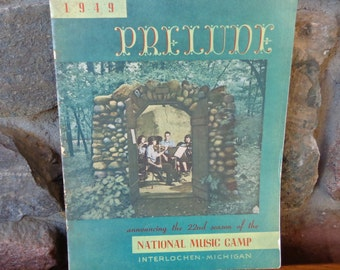 1949 Prelude Announcing 22nd Season of National Music Camp Interlochen Michigan
