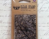 Prima Clear Cling Stamps: Finnabair Collection - Pines
