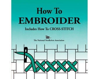 How To Embroider BOOK - TNNA Books