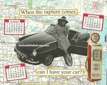 Can I Have Your Car Funny And Brazen Greeting Card