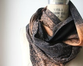 SALE >>>>  Galaxy//Hand Dyed//Infinity Scarf