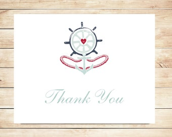 Anchor Thank You Cards - Anchor Stationery
