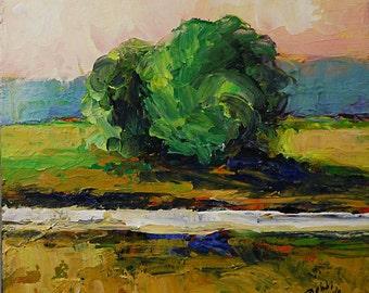 Bobbi Doyle-Maher Southern Landscape Original Tonalism painting