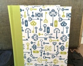 Photo Album - Large with Blue and Green Keys