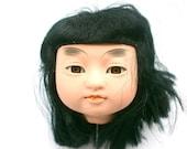 Japanese Doll Head Ichimatsu Doll Body Part #3  Girl Head