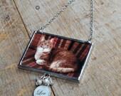 In Memory Custom Photo Keepsake, Custom Photo Ornament, Pet Ornament, Loss of Pet Ornament, Photo Frame