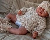 Cheryls Crochet CC82-Lacy Shells Baby Set #10 thread PDF