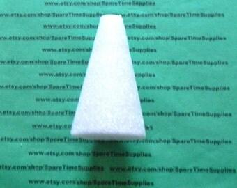 "CO4 Styrofoam Cone - approx. 4"" x 2 1/4"" - white - 1 pc"