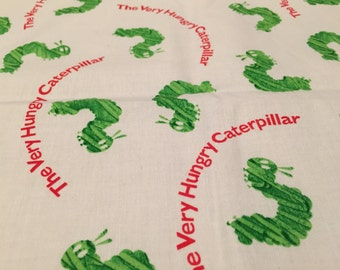 Fabric Scrap The Very Hungry Caterpillar