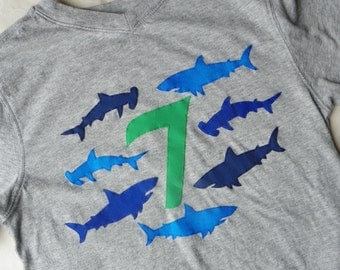 Shark Birthday Shirt